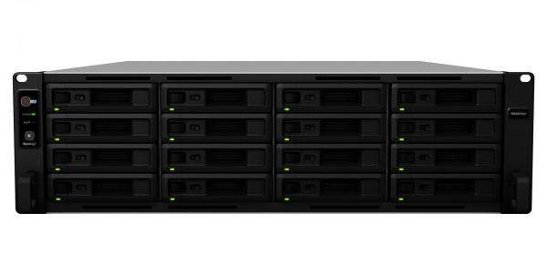 Synology RS4021xs+(64G) Synology RAM 16-Bay 128TB Bundle mit 16x 8TB IronWolf Pro ST8000NE001