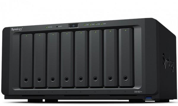 Synology DS1821+(8G) Synology RAM 8-Bay 70TB Bundle mit 7x 10TB Gold WD102KRYZ