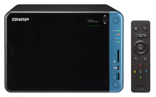 Qnap TS-653B-4G 6-Bay 48TB Bundle mit 6x 8TB IronWolf ST8000VN0004