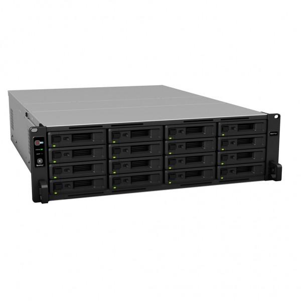Synology RS4017xs+ 16-Bay 64TB Bundle mit 8x 8TB Gold WD8004FRYZ
