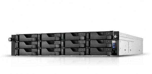 Asustor AS7112RDX 12-Bay 60TB Bundle mit 6x 10TB Gold WD102KRYZ