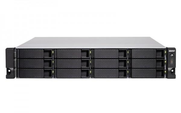 Qnap TS-1283XU-RP-E2124-8G 12-Bay 12TB Bundle mit 6x 2TB IronWolf Pro ST2000NE0025