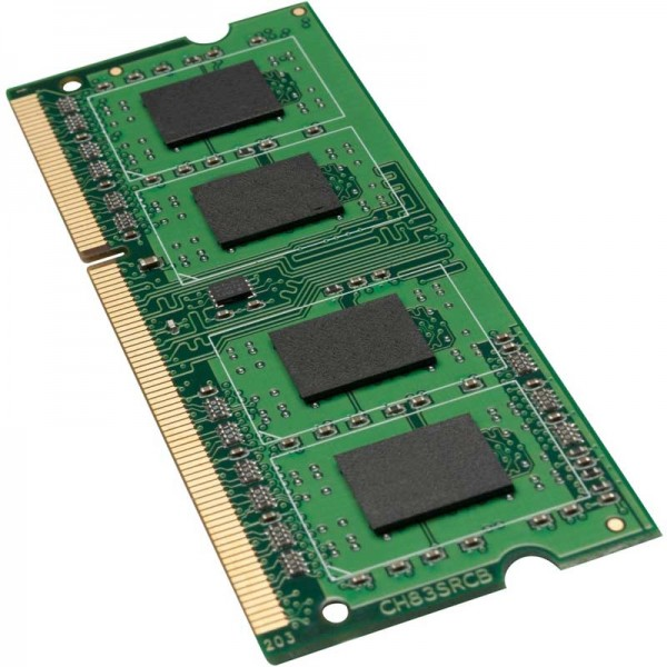 Arbeitsspeicher 1GB, DDR3-RAM, SO-DIMM (1066MHz, 204pin, CL7) Synology, Qnap, Notebook-Laptop