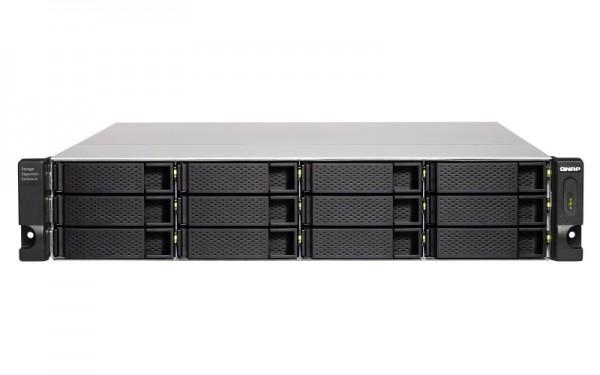 QNAP TL-R1200C-RP 12-Bay 144TB Bundle mit 12x 12TB Gold WD121KRYZ