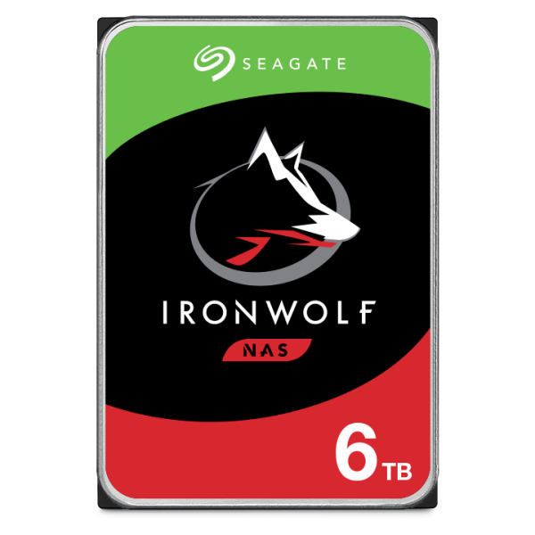 6000GB Seagate IronWolf NAS HDD, SATA 6Gb/s (ST6000VN001)