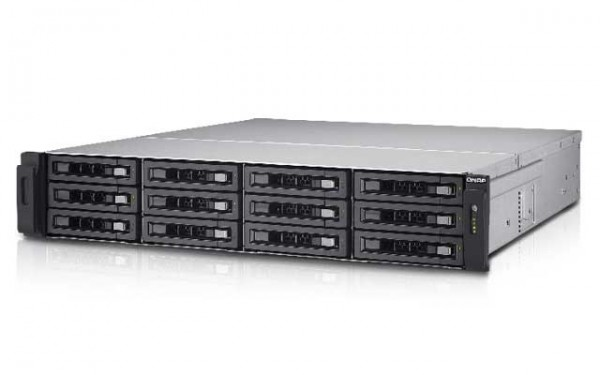QNAP TS-EC1280U-i3-4GE-R2 12-Bay NAS 36TB Bundle mit 12x 3TB HGST Nas