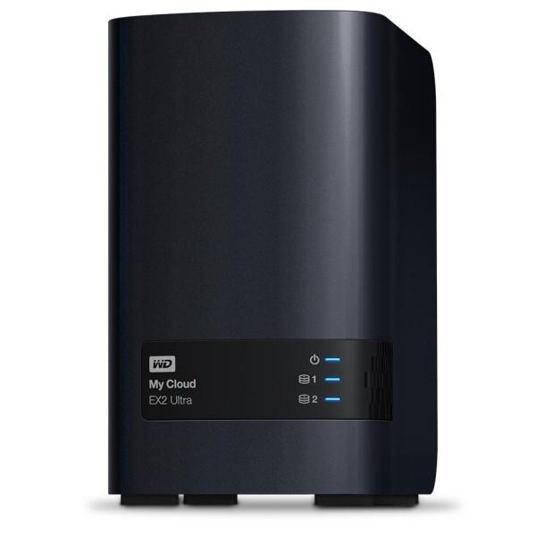 Western Digital My Cloud EX2 Ultra 2-Bay 2TB Bundle mit 1x 2TB P300 HDWD120