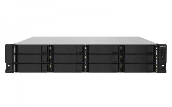 QNAP TS-1232PXU-RP-16G 12-Bay 60TB Bundle mit 6x 10TB Gold WD102KRYZ