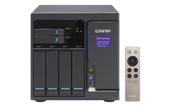 Qnap TVS-682-i3-8G 6-Bay 4TB Bundle mit 2x 2TB IronWolf ST2000VN004
