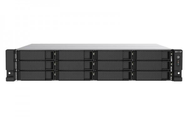 QNAP TS-1253DU-RP-4G 12-Bay 72TB Bundle mit 6x 12TB IronWolf Pro ST12000NE0008