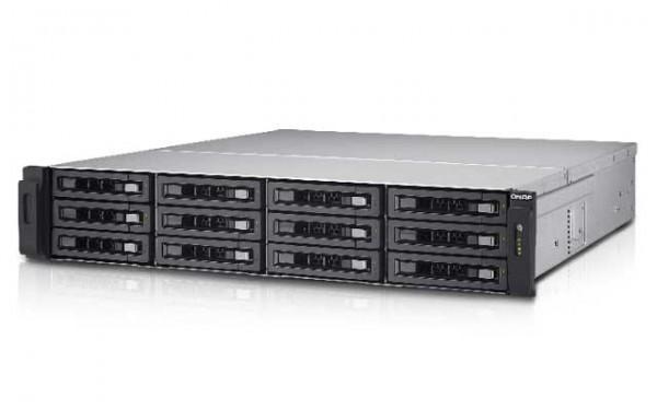 QNAP TS-EC1280U-i3-4GE-R2 12-Bay NAS 72TB Bundle mit 12x 6TB WD6002FFWX Red Pro