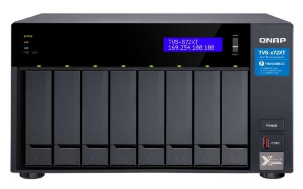 Qnap TVS-872XT-i5-16G 8-Bay 60TB Bundle mit 6x 10TB Gold WD102KRYZ