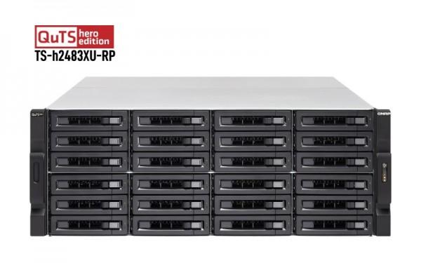 QNAP TS-h2483XU-RP-E2236-128G 24-Bay 120TB Bundle mit 12x 10TB Gold WD102KRYZ