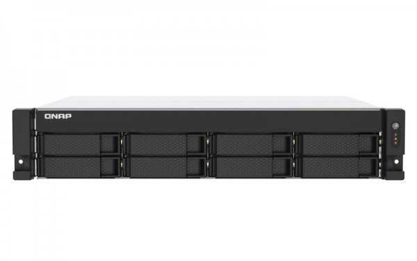 QNAP TS-873AU-32G QNAP RAM 8-Bay 80TB Bundle mit 8x 10TB Gold WD102KRYZ