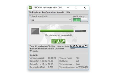 LANCOM Upgrade Advanced VPN Client (WIN, 10 Licences Bulk) bulk