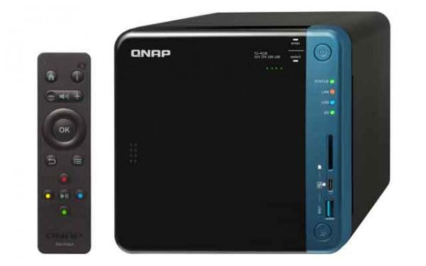 Qnap TS-453B-16G 4-Bay 24TB Bundle mit 3x 8TB Red WD80EFAX
