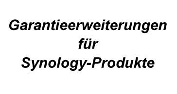 Garantieerweiterung für Synology 2-bay Systeme 3 J Bring-In