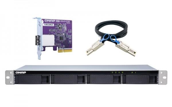 QNAP TL-R400S 4-Bay 40TB Bundle mit 4x 10TB Gold WD102KRYZ