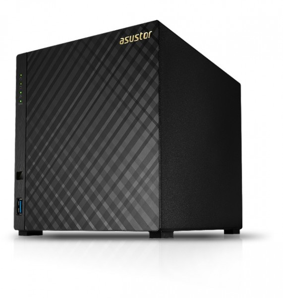 Asustor AS1004T v2 4-Bay 40TB Bundle mit 4x 10TB Gold WD102KRYZ