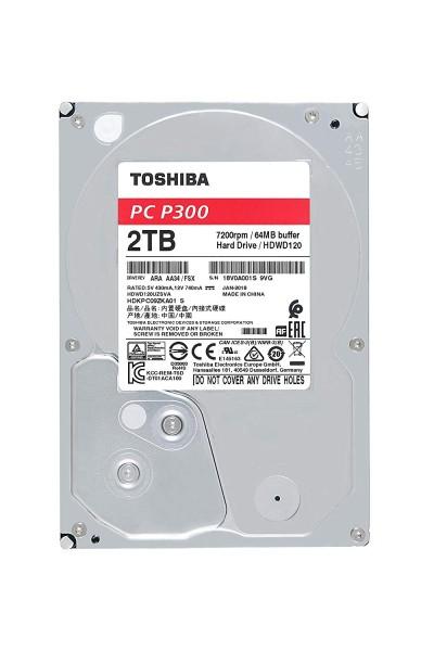 """2000GB Toshiba P300, 3,5"""", SATA 6Gb/s (HDWD120)"""