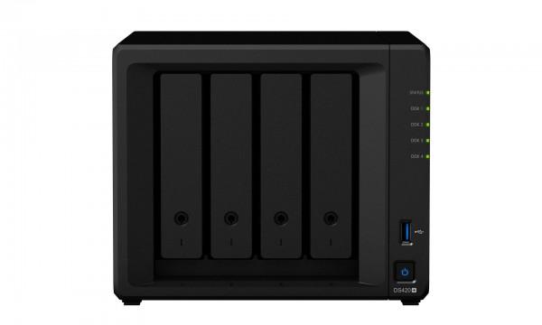 Synology DS420+(6G) Synology RAM 4-Bay 12TB Bundle mit 1x 12TB Gold WD121KRYZ