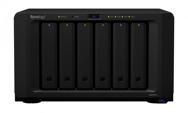 Synology DS1621+(16G) Synology RAM 6-Bay 60TB Bundle mit 6x 10TB Gold WD102KRYZ