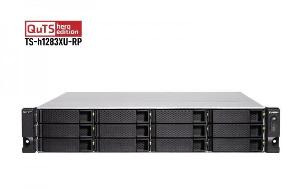 QNAP TS-h1283XU-RP-E2236-128G 12-Bay 120TB Bundle mit 12x 10TB Gold WD102KRYZ
