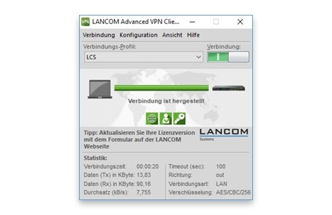 LANCOM Advanced VPN Client (MAC, 10 Licences Bulk)