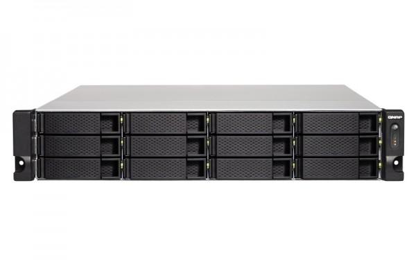Qnap TS-1263XU-4G 12-Bay 120TB Bundle mit 12x 10TB Exos