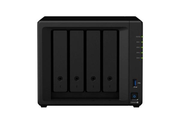 Synology DS920+(8G) Synology RAM 4-Bay 24TB Bundle mit 2x 12TB Gold WD121KRYZ
