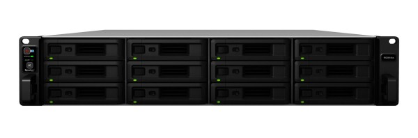 Synology RS3618xs 12-Bay 96TB Bundle mit 12x 8TB IronWolf ST8000VN0004