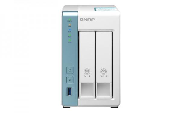 QNAP TS-231K 2-Bay 24TB Bundle mit 2x 12TB Gold WD121KRYZ
