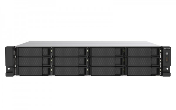 QNAP TS-1273AU-RP-8G 12-Bay 60TB Bundle mit 6x 10TB Gold WD102KRYZ