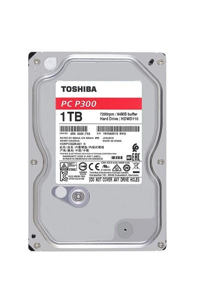 """1000GB Toshiba P300, 3,5"""", SATA 6Gb/s (HDWD110)"""