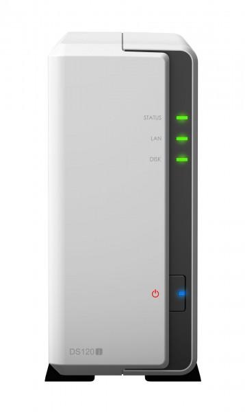 Synology DS120j 1-Bay 4TB Bundle mit 1x 4TB Gold WD4003FRYZ