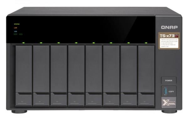 Qnap TS-873-64G QNAP RAM 8-Bay 40TB Bundle mit 4x 10TB Gold WD102KRYZ