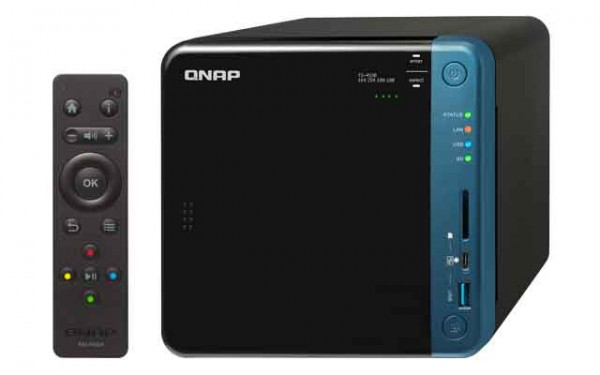 Qnap TS-453B-16G 4-Bay 2TB Bundle mit 1x 2TB Red WD20EFAX