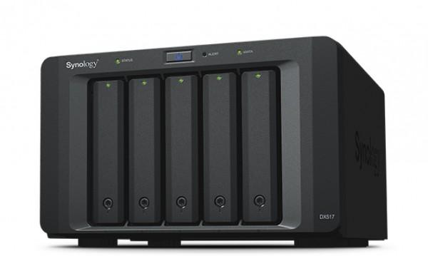 Synology DX517 5-Bay 15TB Bundle mit 5x 3TB DT01ACA300