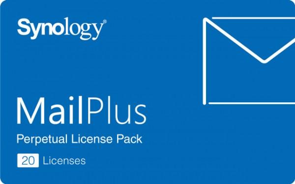 Synology MailPlus Lizenz 20er dauerhaft gültig