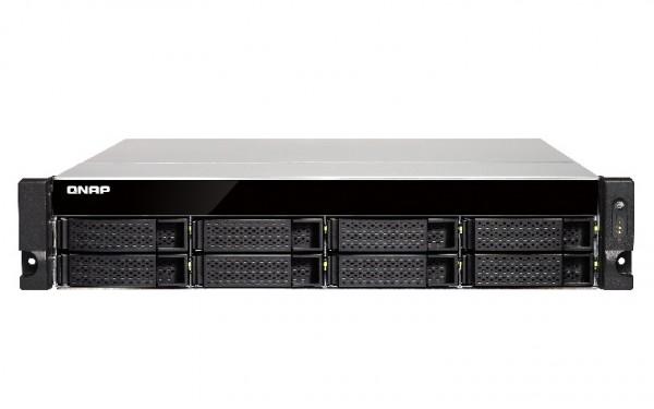 Qnap TS-873U-8G 8-Bay 16TB Bundle mit 2x 8TB Red WD80EFAX