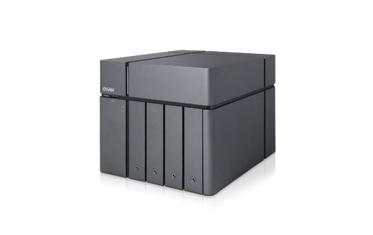 Qsan XCubeNAS XN5004T 4-Bay 8TB Bundle mit 2x 4TB Red WD40EFAX