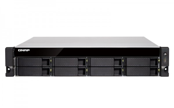 Qnap TS-877XU-RP-2600-8G 8-Bay 10TB Bundle mit 1x 10TB Red Pro WD101KFBX