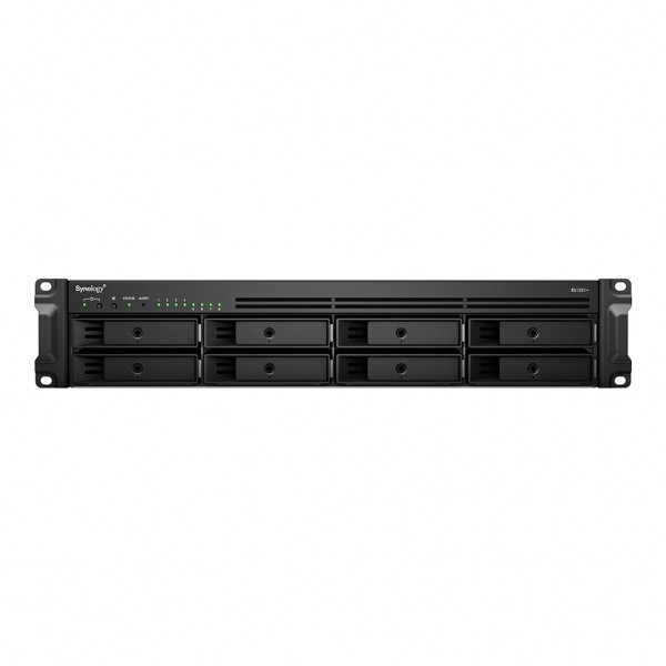 Synology RS1221+(32G) Synology RAM 8-Bay 70TB Bundle mit 7x 10TB IronWolf ST10000VN0008