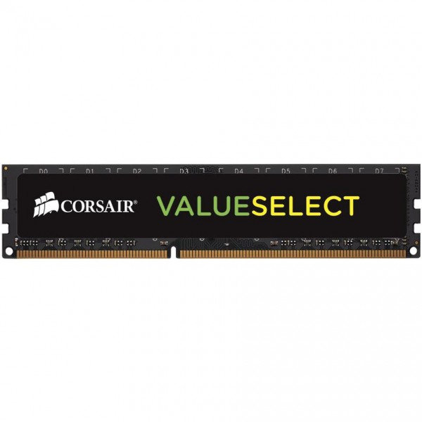 DDR3 4GB PC 1600 CL11 CORSAIR Value Select 1,35V